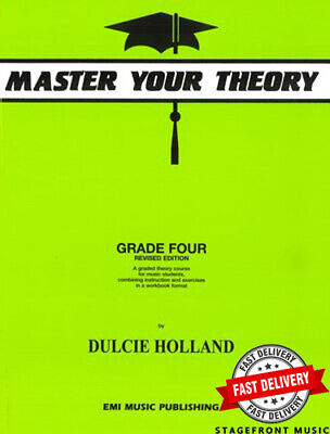 Master Your Theory Grade 4 / Four Revised Edition *BRAND NEW*