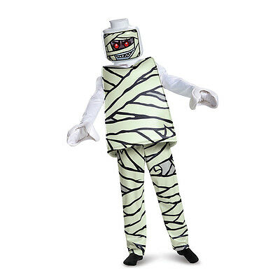 Kids LEGO Mummy Deluxe Halloween Costume