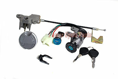Key Swtich Assembly For Baja Sun City 50 Sc50 Sc50P 4 Wire 4 Pin Ignition Module
