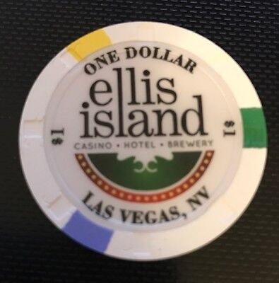 Ellis Island Casino Las Vegas $1 Poker Chip