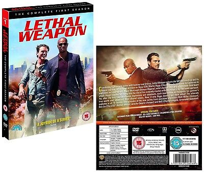 LETHAL WEAPON 1 (2016-2017):TV Action Spinoff Season Series -  NEW R2 DVD not US