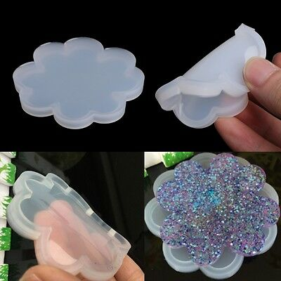 Silicone Flower Mold Making Jewelry Pendant Resin Casting Mould DIY Craft Tools