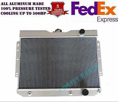 JDN 3 ROWS FIT 61 to 66 CHEVY TRUCK K10//K20 Pickup All ALUMINUM RADIATOR
