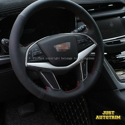 Matte Chrome steering wheel moulding cover trims parts For Cadillac 2017 XT5