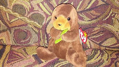 Ty beanie baby Seaweed *Limited Edition* with 4 Errors! Ultra Rare!!  New MWMT