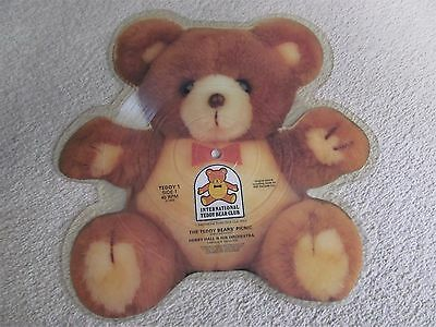 The Teddy Bears' Picnic, Rare Picture Disc Vinyl 45 RPM Single, 1984 - MUST SEE!