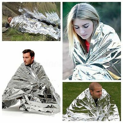 Premium Waterproof Foil Thermal Emergency Blanket First Aid Camping Survival