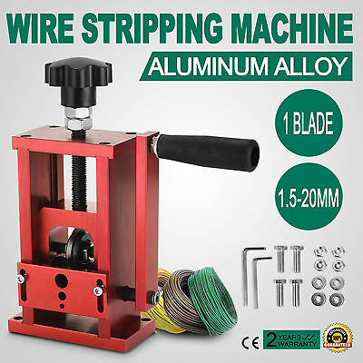 Manual Electric Wire Stripping Machine Recycle Tool Industrial 1.5-20mm Drill