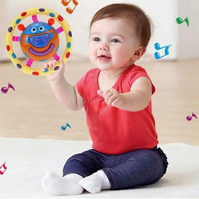 Baby Handbells Rattle Ladybug Musical Developmental SOUNDS Rattling Sensory Toy