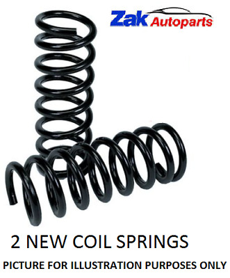 Ford Fiesta Mk4 (1995-2002) 2 Front Suspension Coil Springs Pair X2 New