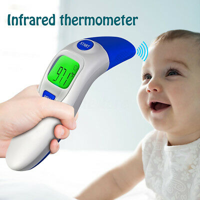 Premium Infrared Ear & Forehead Thermometer - Non Contact Thermoscan for Baby