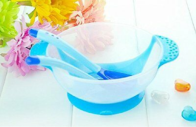 Baby Infants Feeding Bowl with Sucker and Bowl Slip-resistant Tableware