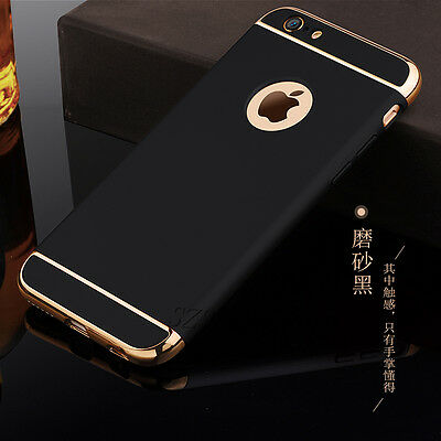 Luxury Ultra Slim Electroplate Hard Back Case Cover For Apple iPhone 6 7 8 Plus