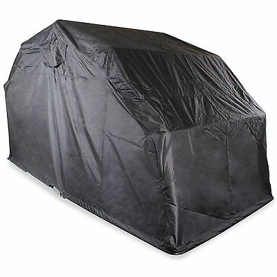 Extra Large Waterproof Motorcycle Cover  Bike Scooter Moped Folding Shelter Shed