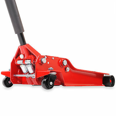 3 Ton Trolley Low 98Mm Jack Hydraulic Twin Piston Garage Mechanic Floor