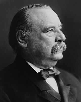 24th US Former President GROVER CLEVELAND 8x10 Photo Glossy Print Poster Vintage