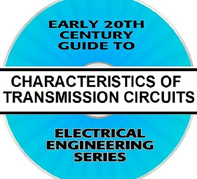 Vintage Guide: Westinghouse Electrical Characteristics Of Transmission Circuits