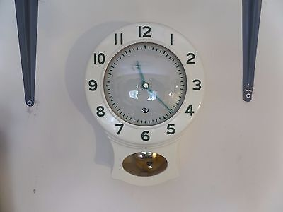Restored & Serviced Smiths Enfield Kitchen Wall Clock      64 Photos Of The Work