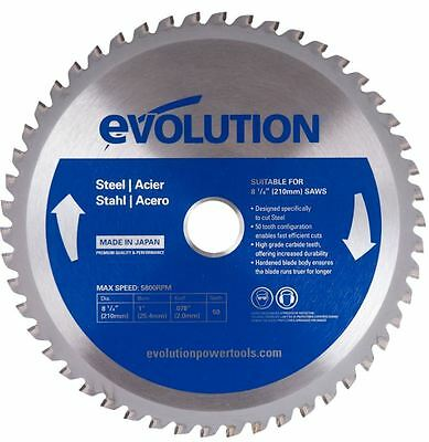 "Evolution Saw Blades For Steel - 7"" Circular Saw Blade"