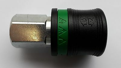 "JWL 1/4""BSPF Two-Step Release EURO Coupling Body   570-002000"