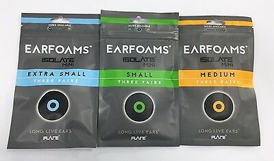 EARFOAMS®-Original replacement memory foam tips for ISOLATE® MiNi Ear Protectors