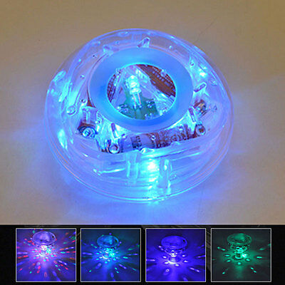 Kids Underwater LED Floating Disco Light Show Bath Tub Swimming Pool Party Light