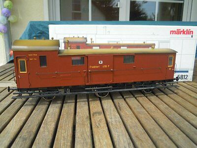 Märklin 5812 1 Gauge for the Set 5502 Prussia Train Baggage Coach ep. 1 KPEV