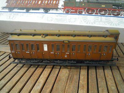 Märklin 5502 Gauge 1 from Prussia train COMPARTMENT COACH brown 3rd class Ep. 1