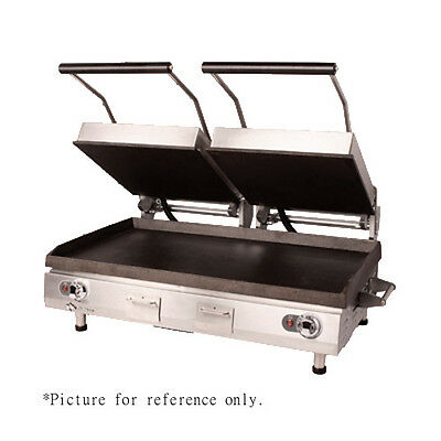 Star PGC28IE Grooved Panini Sandwich Grill w/ Analog Thermostat Control & Timer