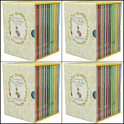 Box 23 Set Beatrix Potter Brand New Sealed Book Peter Rabbit Library Collection