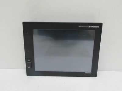 Mitsubishi Graphic Operation Terminal Touchpanel GT1585-STBA+ GT15-J71E71-100