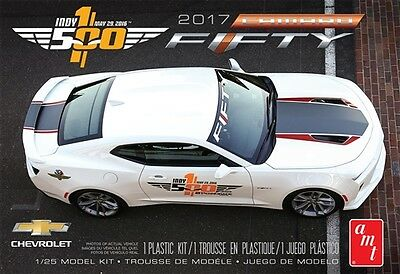 AMT 1:25 2017 Chevy Camaro Fifty Pace Car Model Kit AMT1059M