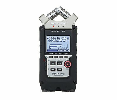 New Zoom H4N Pro 4-Channel Portable Digital Multi Track Recorder