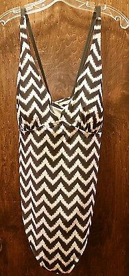 Liz Lange maternity one piece swimsuit sz XL