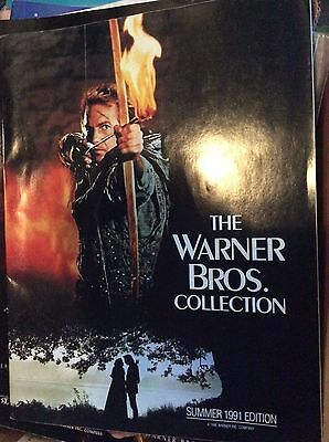 Warmer bros. Store catalog, Kevin Costner on cover 1991 edition