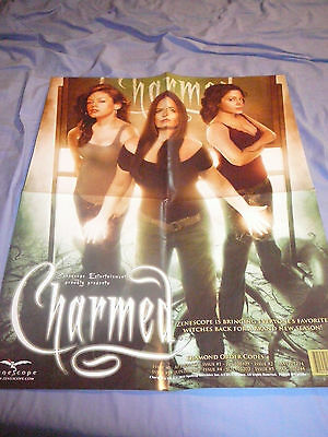 CHARMED POSTER PHOTO AFFICHE 17 x 22 ALYSSA MILANO ROSE MCGOWAN HOLLY MARIE COMB