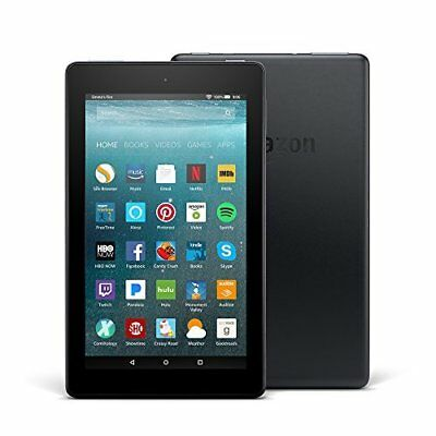 """All-New Fire 7 Tablet with Alexa, 7"""" Display, 8 GB, Black - with Special"""