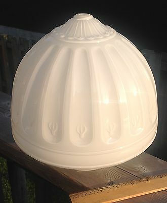 Art Deco - Large Milk Glass Ceiling Light Globe / Shade