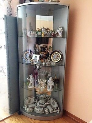 Curio cabinet . Excellent condition with LED lights