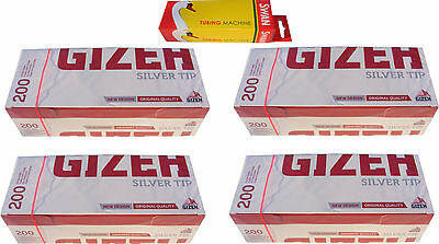 Swan Cigarette Tubing Machine & 800 Gizeh Cigarette Making Tubes / Sleeves - New