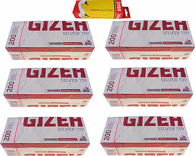 Swan Cigarette Tubing Machine & 1200 Gizeh Cigarette Making Tubes / Sleeves New