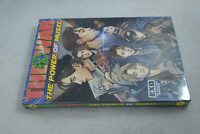 EXO (The War) [The Power Of Music] 4th Repackage Korean CD+Booklet+Photocard