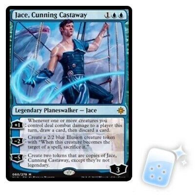 JACE, CUNNING CASTAWAY Ixalan XLN Planeswalker Magic MTG MINT CARD