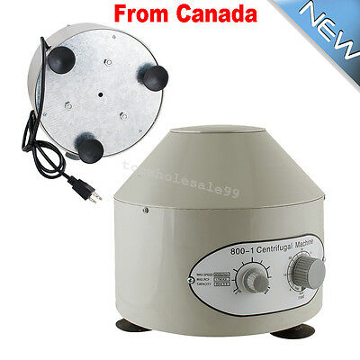 Electric Centrifuge Machine 4000rpm Lab Medical Practice CE ISO【2~5DAYS SHIP】