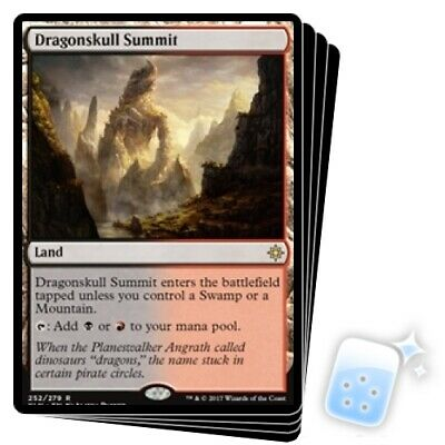 DRAGONSKULL SUMMIT X4 Ixalan XLN Magic MTG MINT CARD