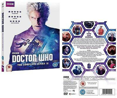 DR WHO 2017 Series 10 + 2016 Christmas  Doctor Peter Capaldi NEW R2 DVD not US