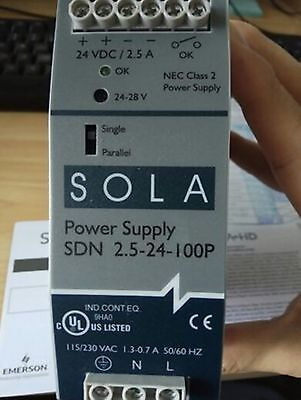 1PC USED SOLA SDN 2.5-24-100P Tested