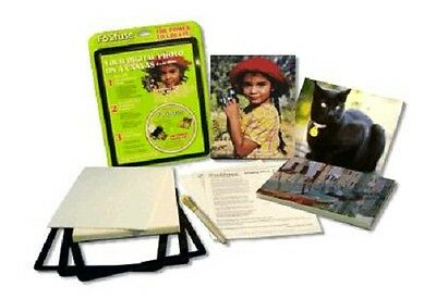 Fo2Fuse Your Digital Photo on a Canvas Kit Paper Frames Canvas & Software - NEW!