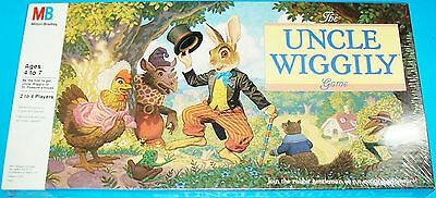 New Sealed 1988 Uncle Wiggily Board Game In Factory-Sealed, Milton Bradley