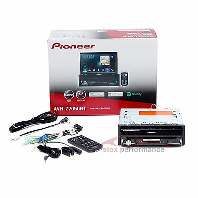 Pioneer AVH-Z7050BT 7″ 1-Din Flip Screen DVD Multimedia Apple CarPlay Bluetooth